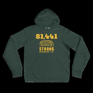 81,441 Strong Unisex Hoodie