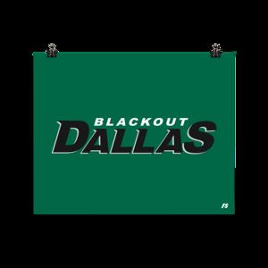 Blackout Dallas Poster