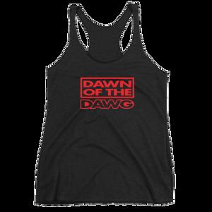 Women's Dawn of the Dawg Racerback Tank