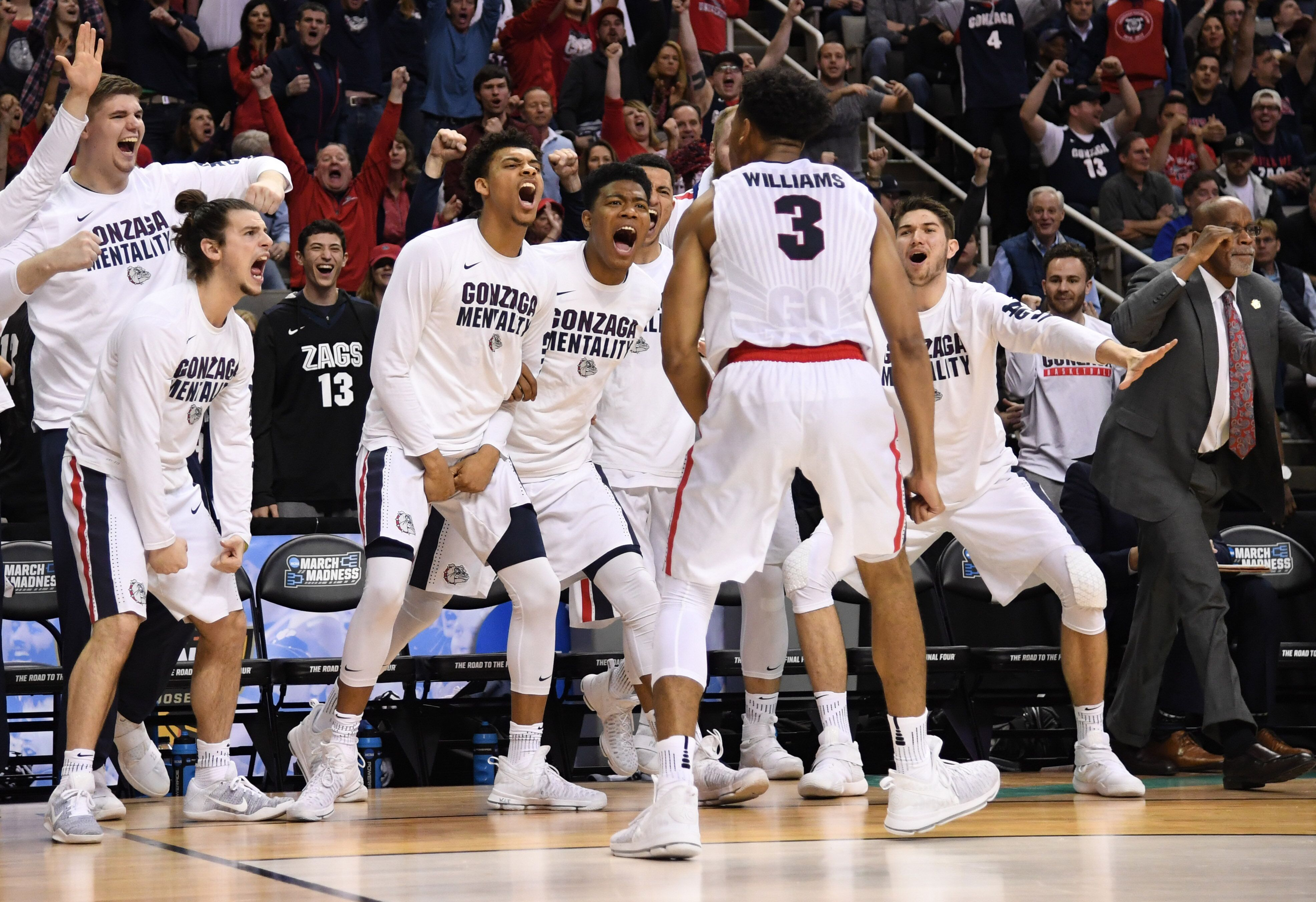 where is gonzaga playing in the ncaa tournament