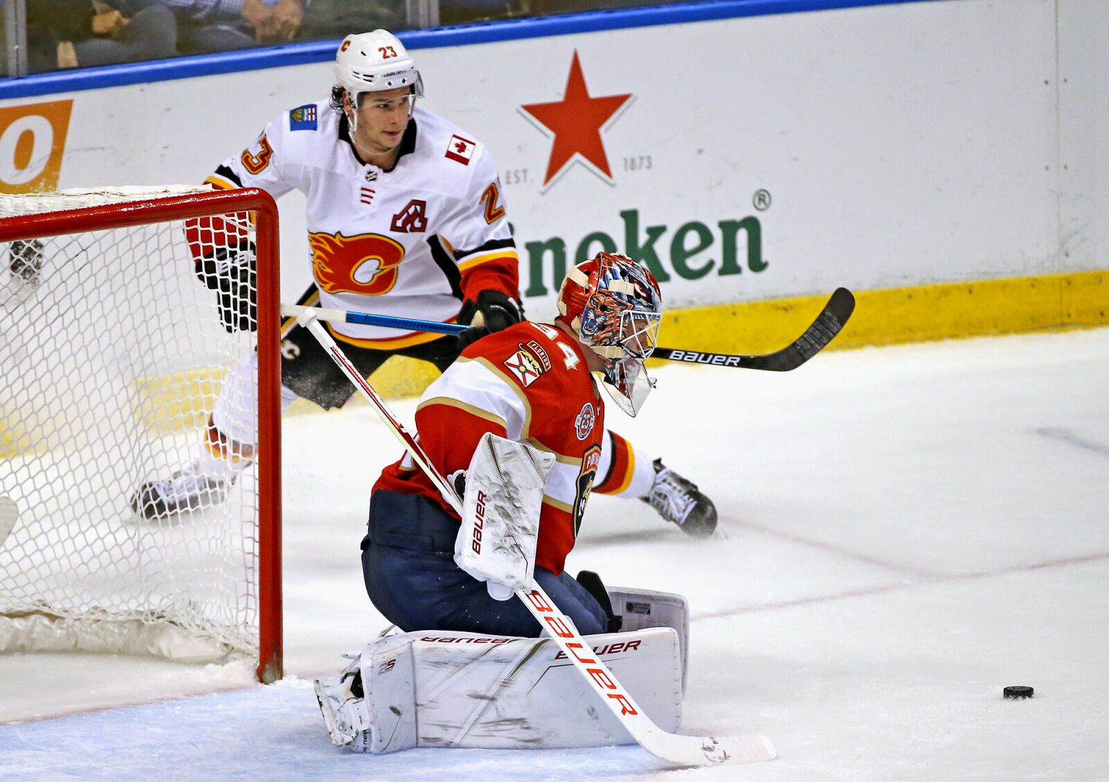 Calgary Flames drop fourth straight game to Florida Panthers