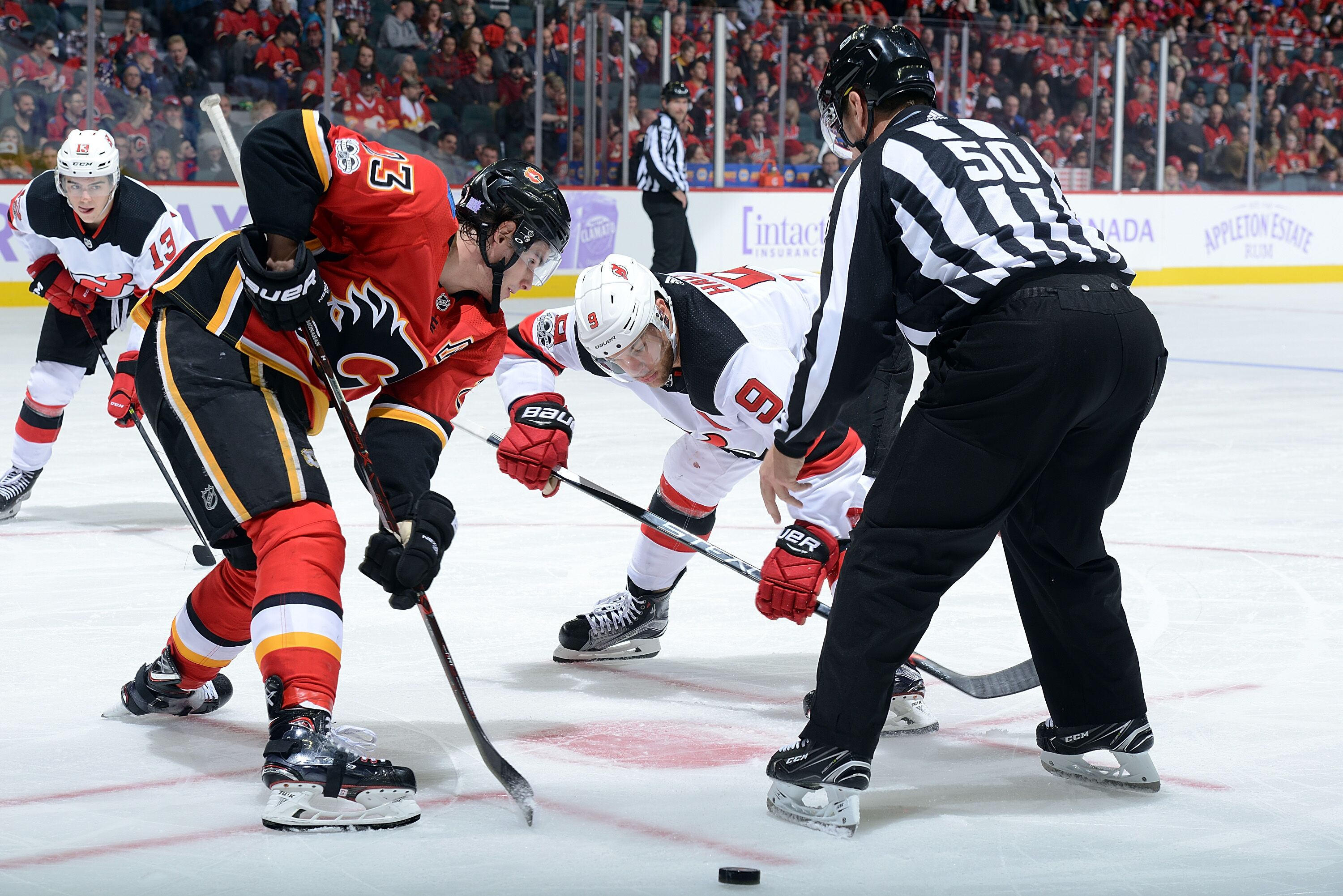 a88711b5c Calgary Flames  Three things to watch for vs. New Jersey Devils