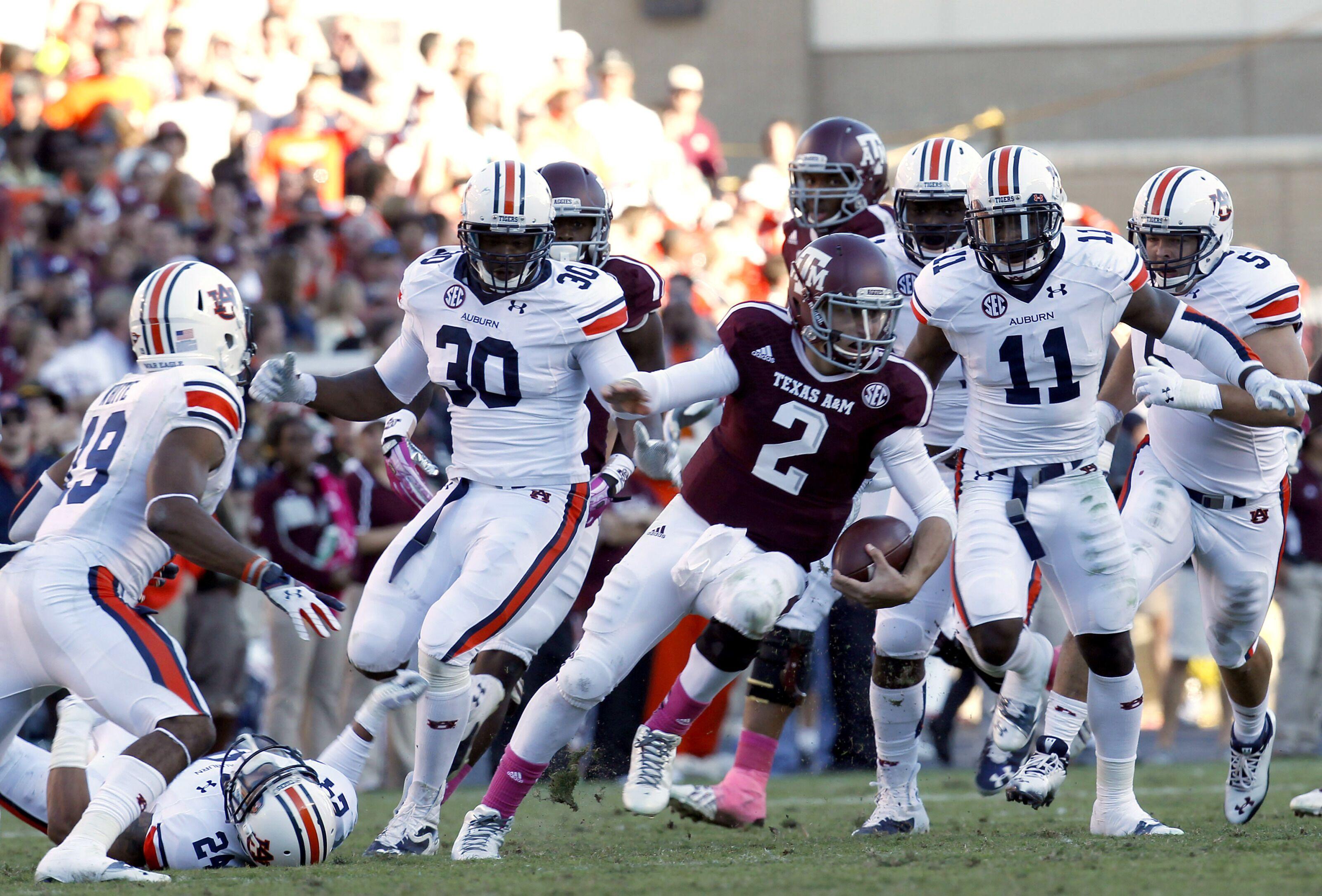 Auburn Football: Top 3 Games in Auburn vs Texas A&M History
