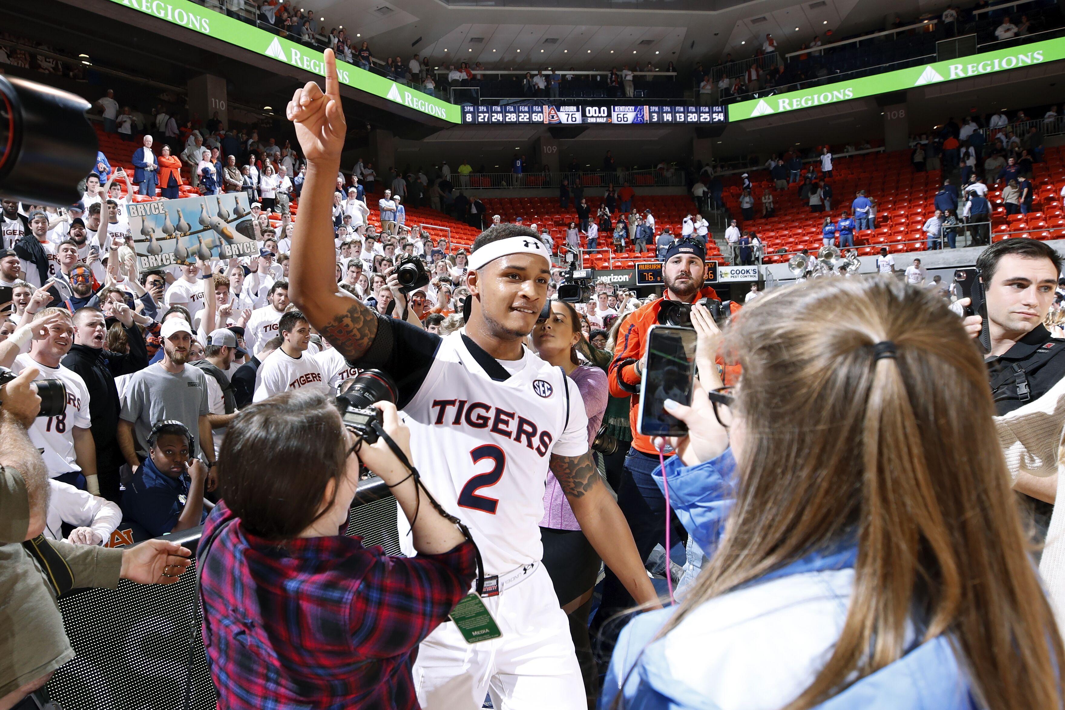 Auburn Basketball Analyst S Top 10 Ranking Elevates