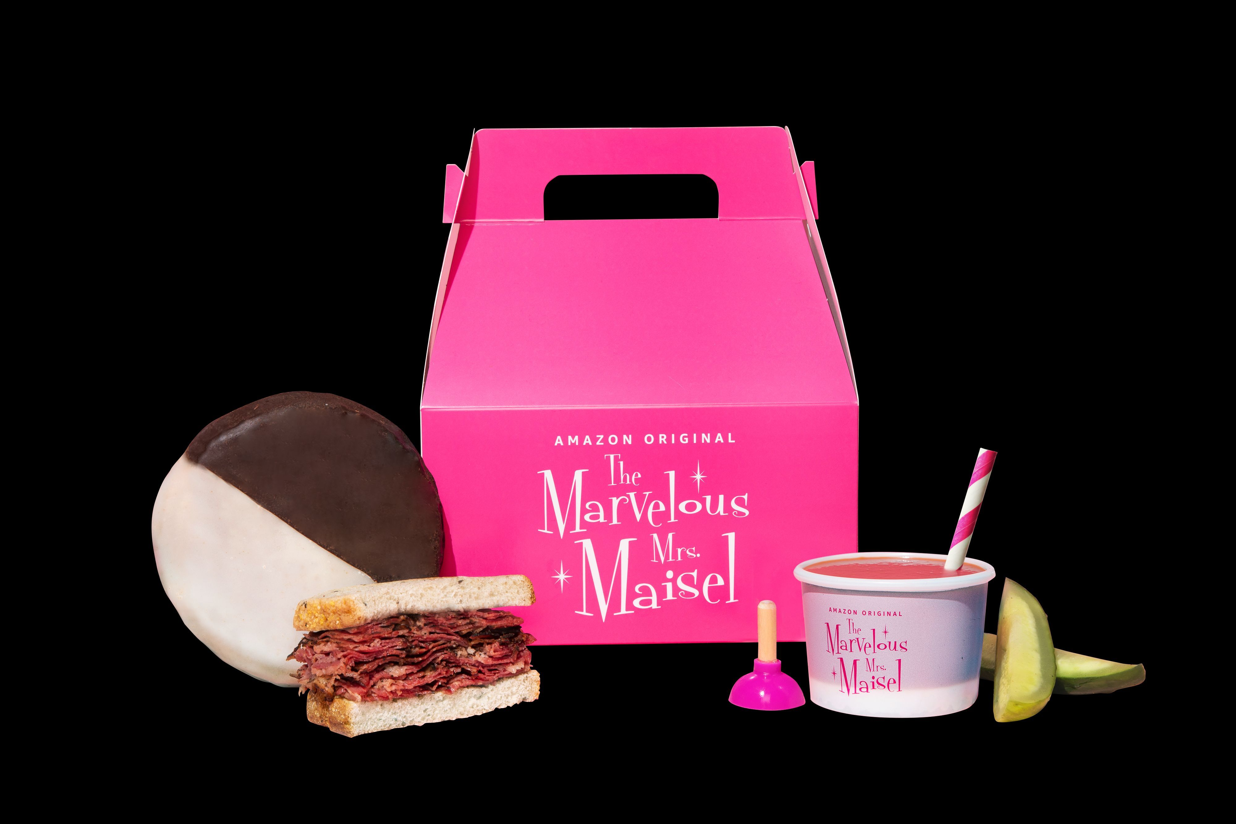 Did you get The Marvelous Mrs. Maisel Meal Pack from Postmates?