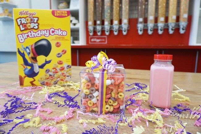 Froot Loops Birthday Cake cereal makes every day a celebration