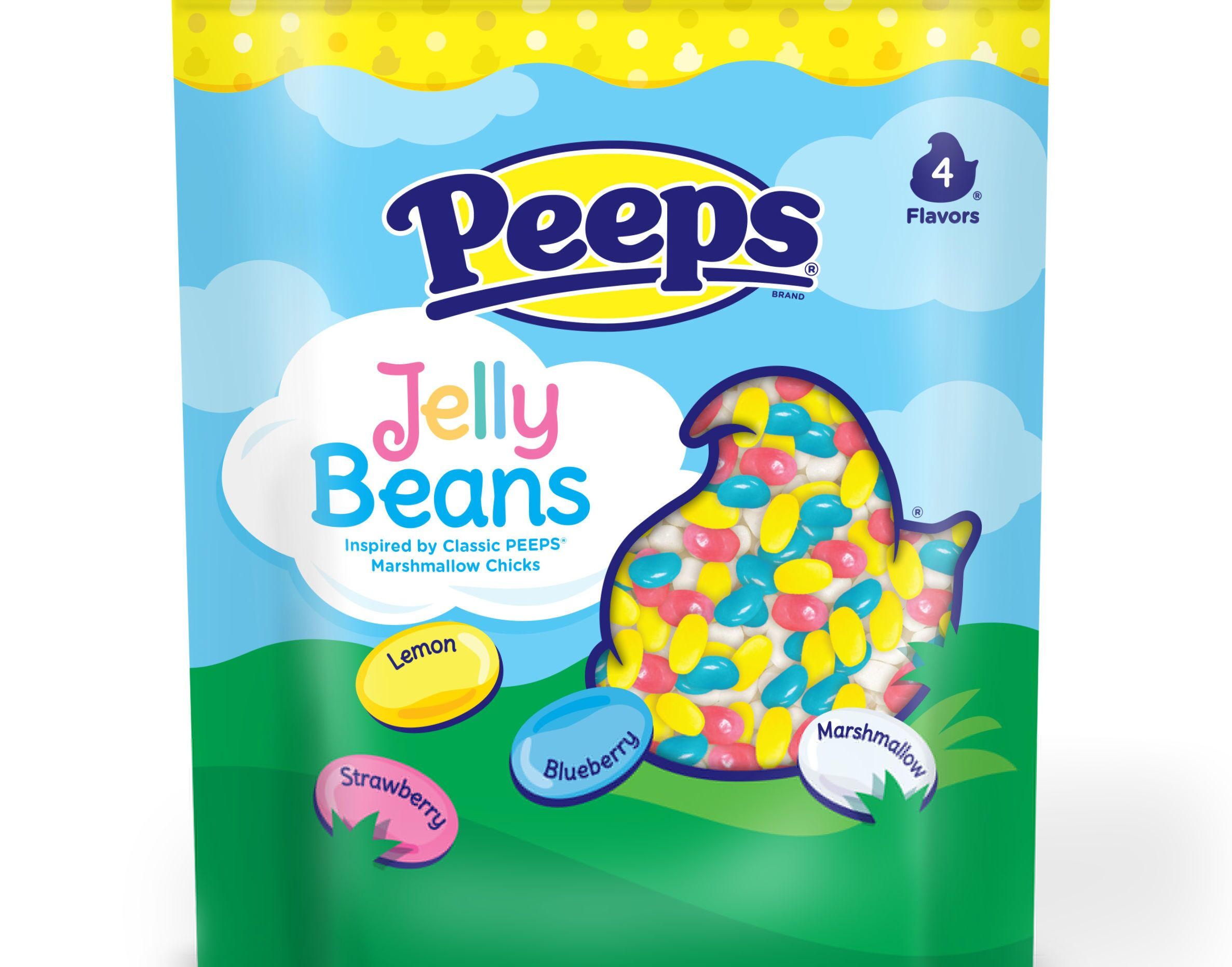 PEEPS Flavored Jelly Beans will become the Easter Bunny's favorite treat