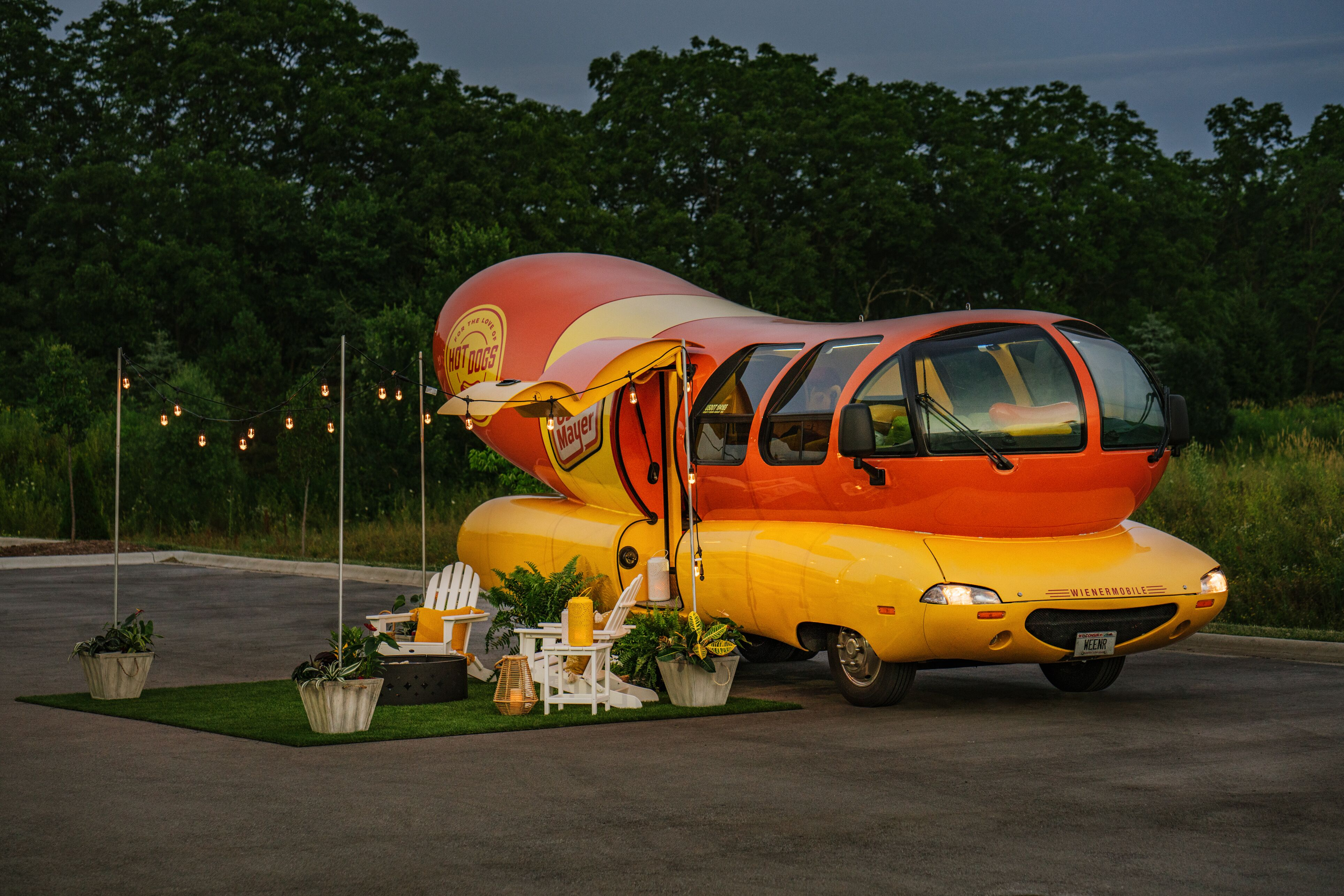 Wienermobile is the ultimate Airbnb rental and it could be yours