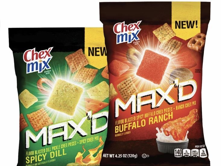 Chex Mix Spicy Dill Pickle flavor will be your new snack obsession