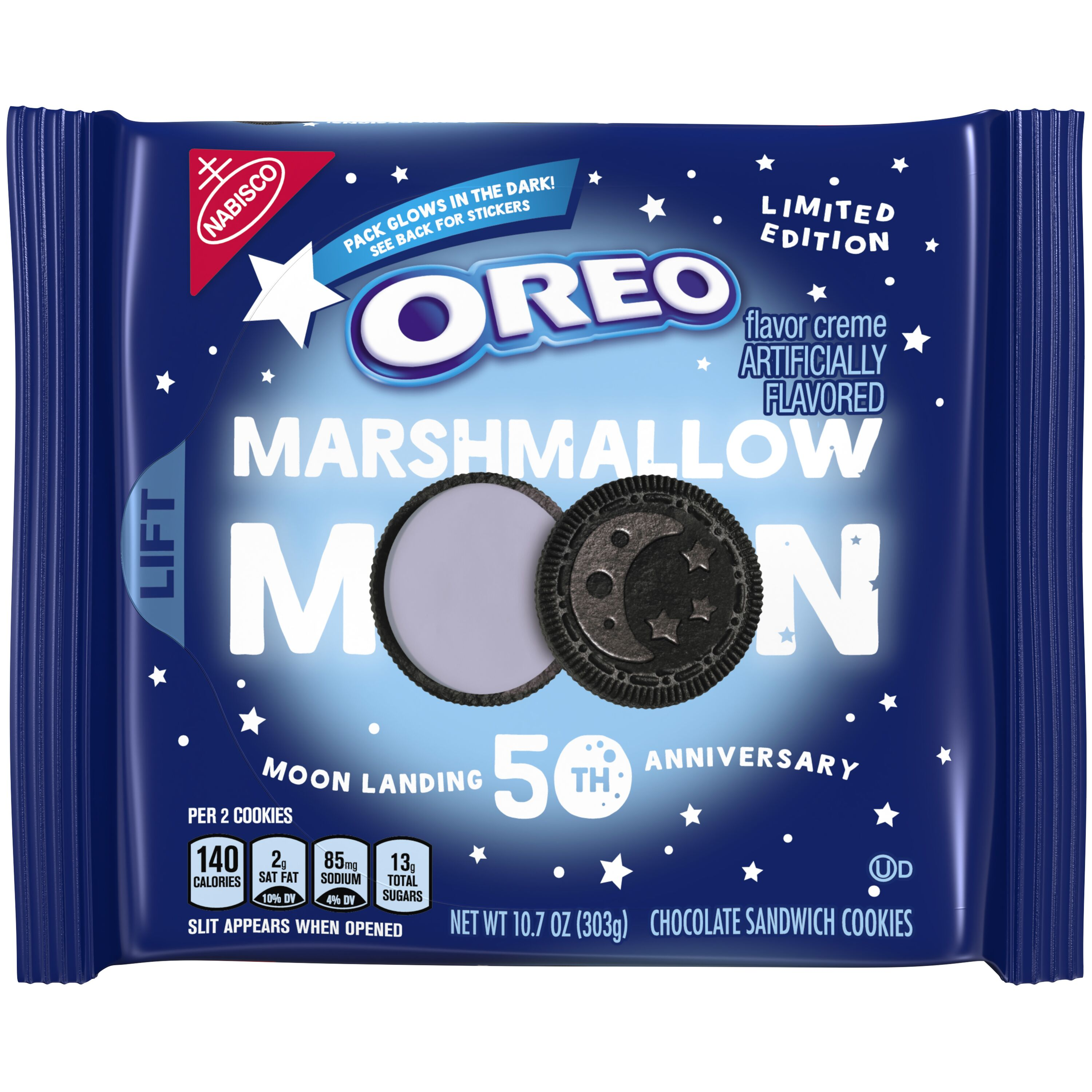 Moon themed foods to celebrate the Apollo 11 anniversary
