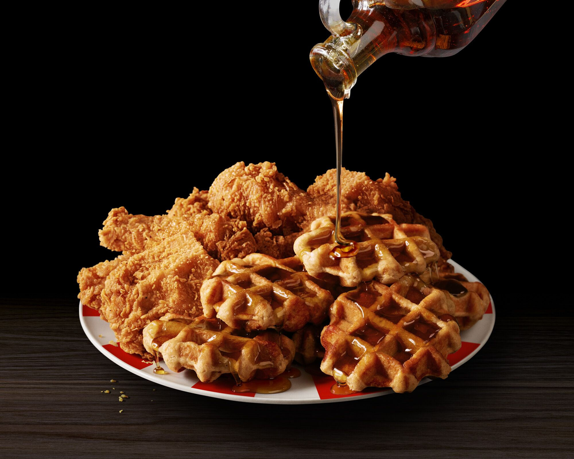 Kentucky Fried Chicken and Waffles are back and weu2019re hungry