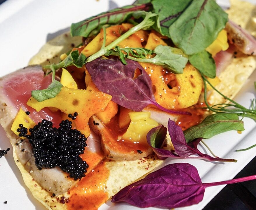 Epcot Flower and Garden Festival food: Colorful plates delight the senses