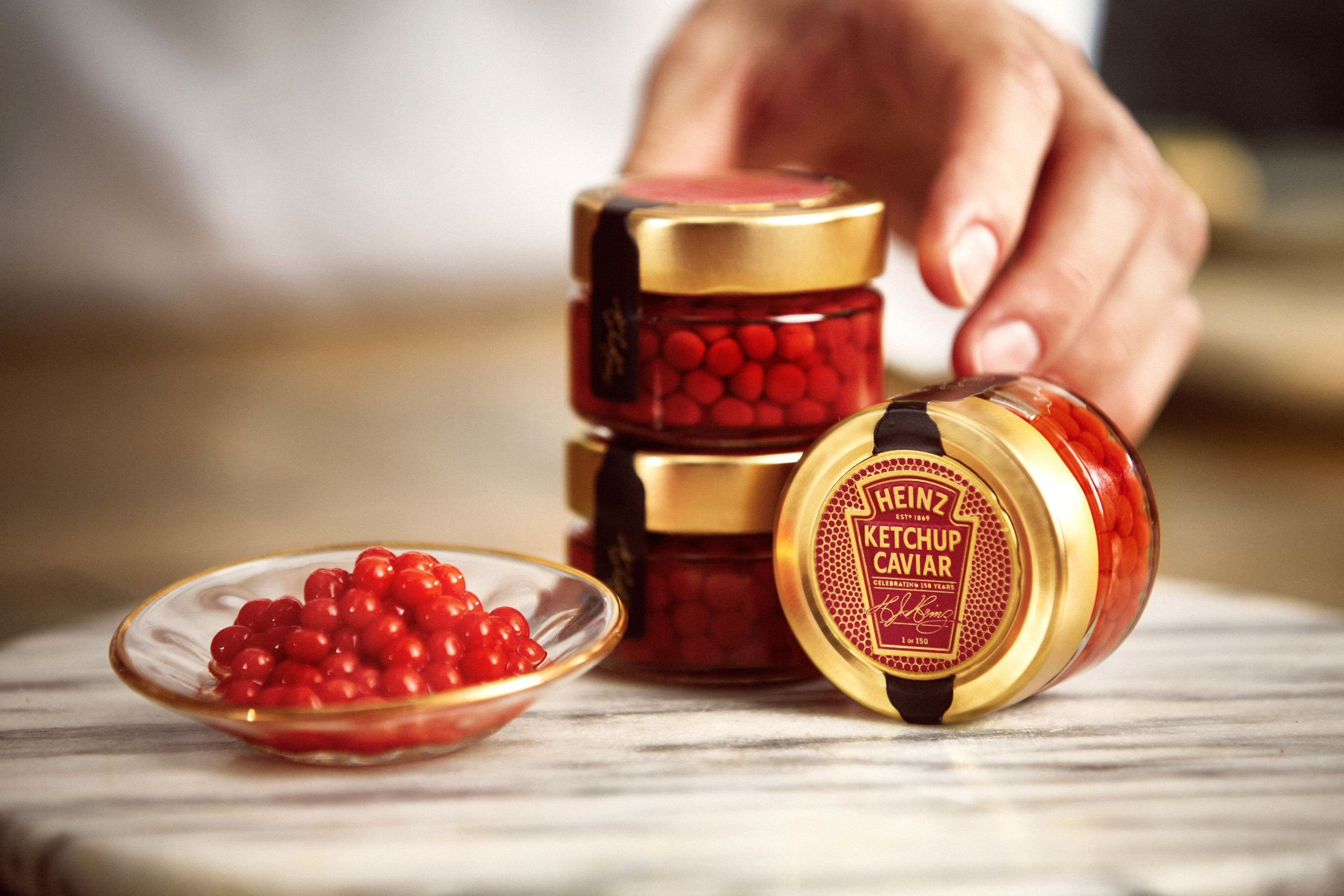 HEINZ Ketchup Caviar will become the ketchup fan's new obsession