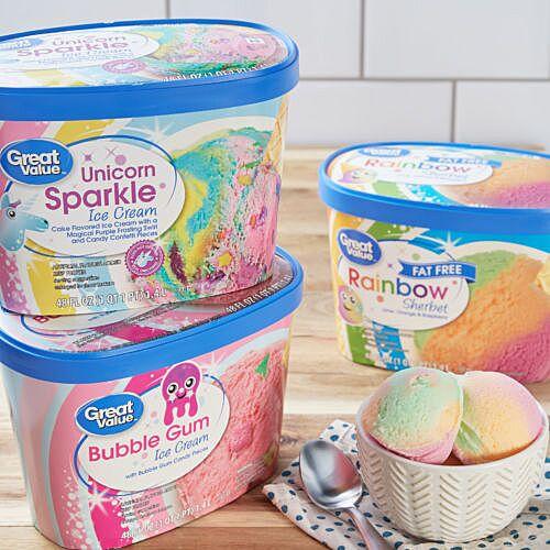 New Walmart frozen treats feature unicorns, rainbows and slime: