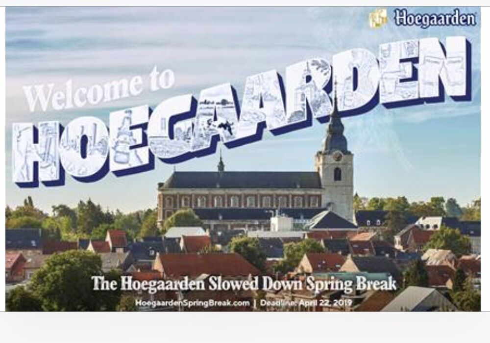 Get paid to go on vacation? Hoegaarden is paying you to slow down