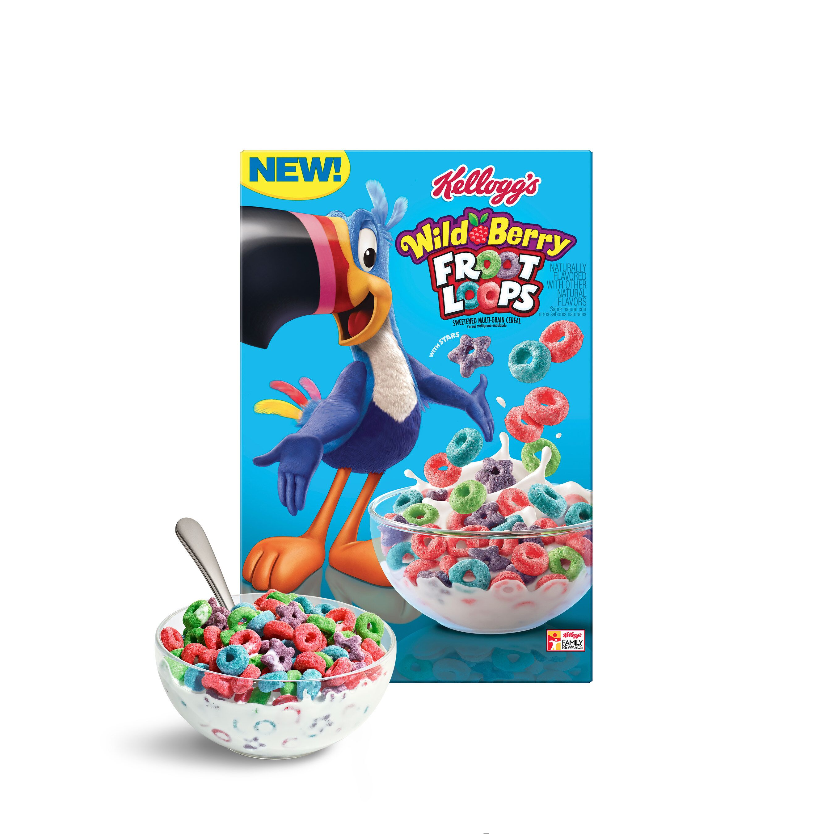 New Froot Loops Flavor: Breakfast Goes Wild Berry