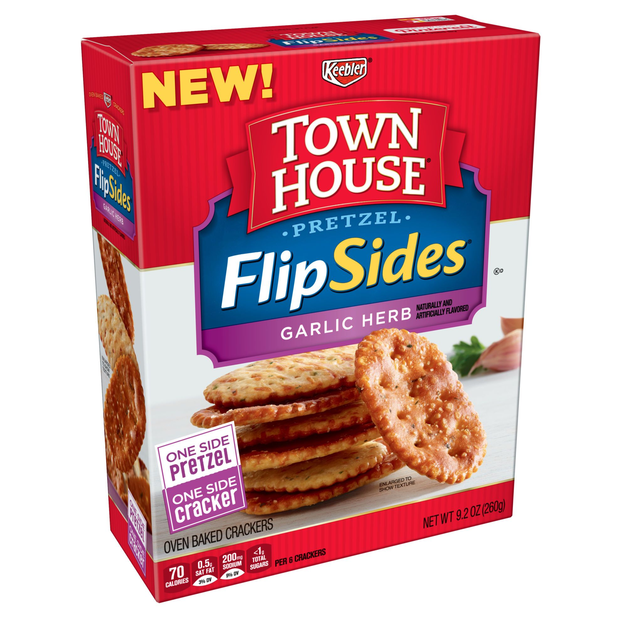 Town House Garlic Herb Flipsides: Bold flavor that goes with everything