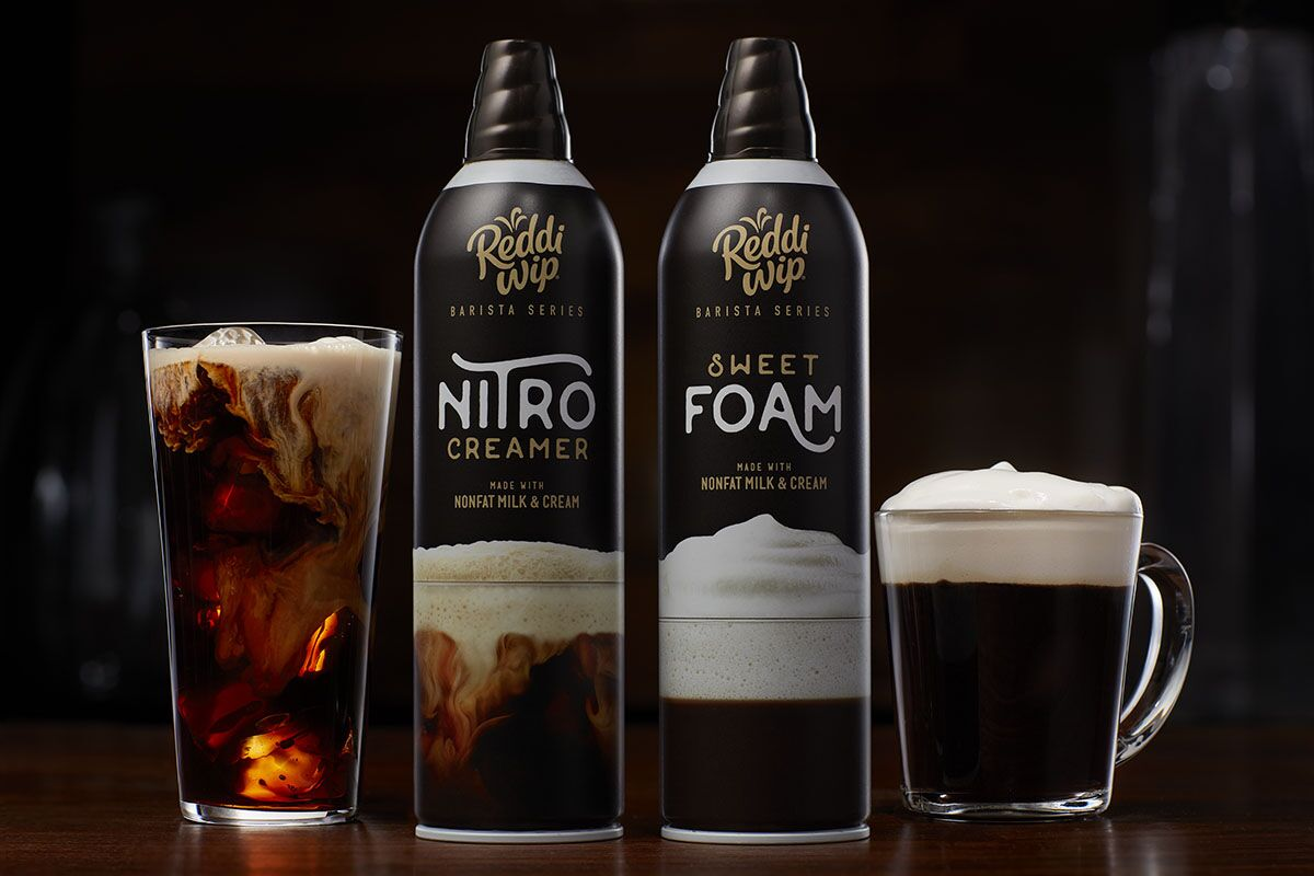 Elevate your coffee with Reddi-wip's new Barista Series