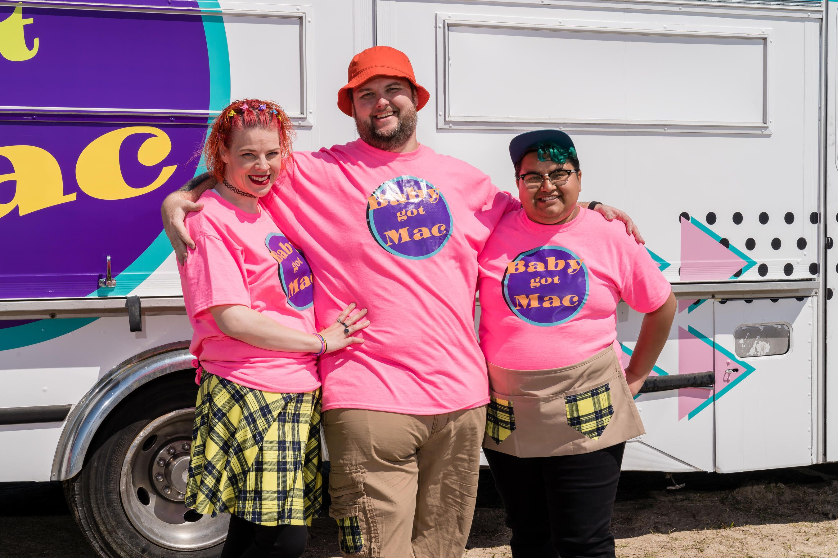 Baby Got Mac: The Great Food Truck Race team has a passion