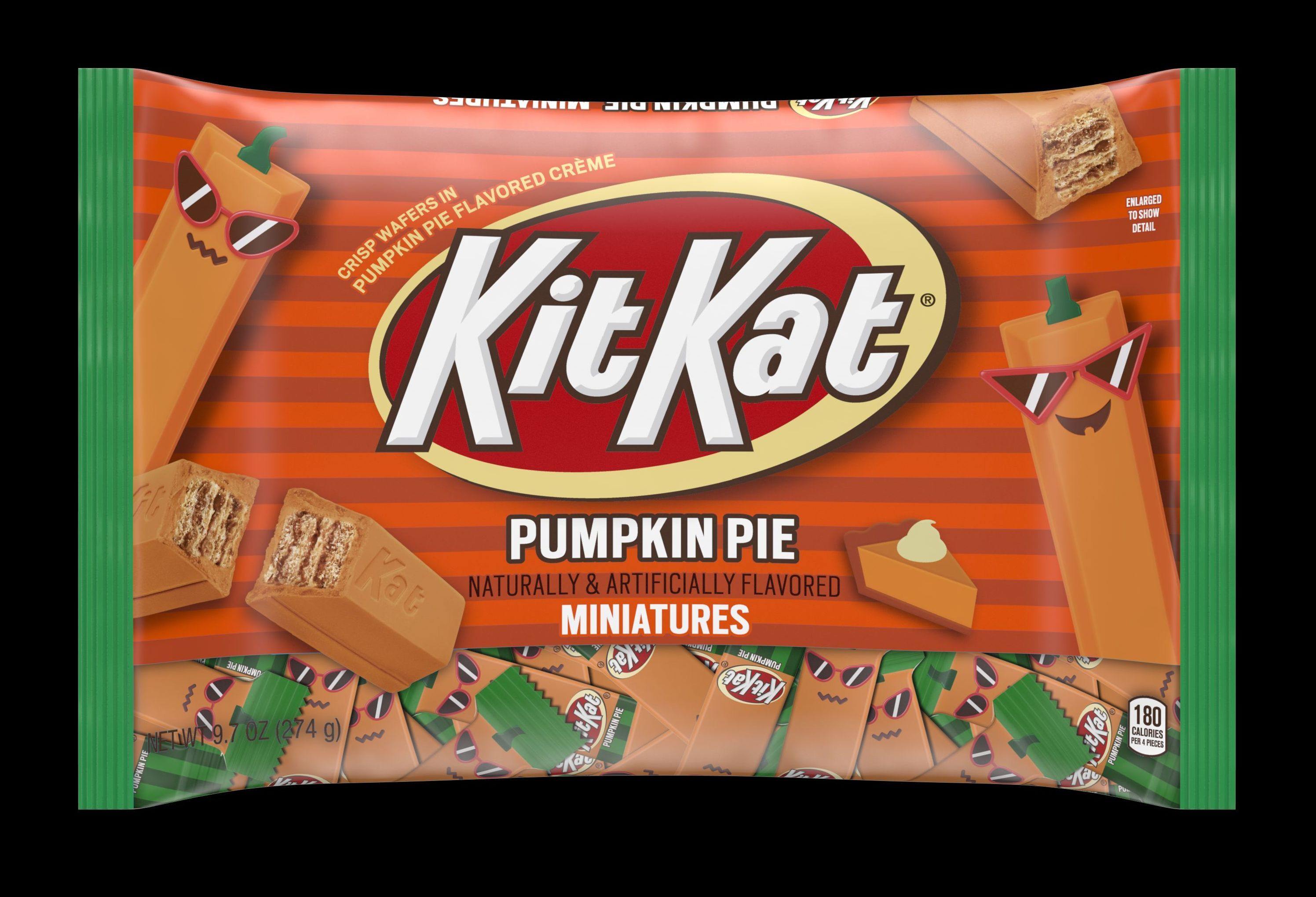 Kit Kat pumpkin pie is the Halloween candy you will steal from your kids