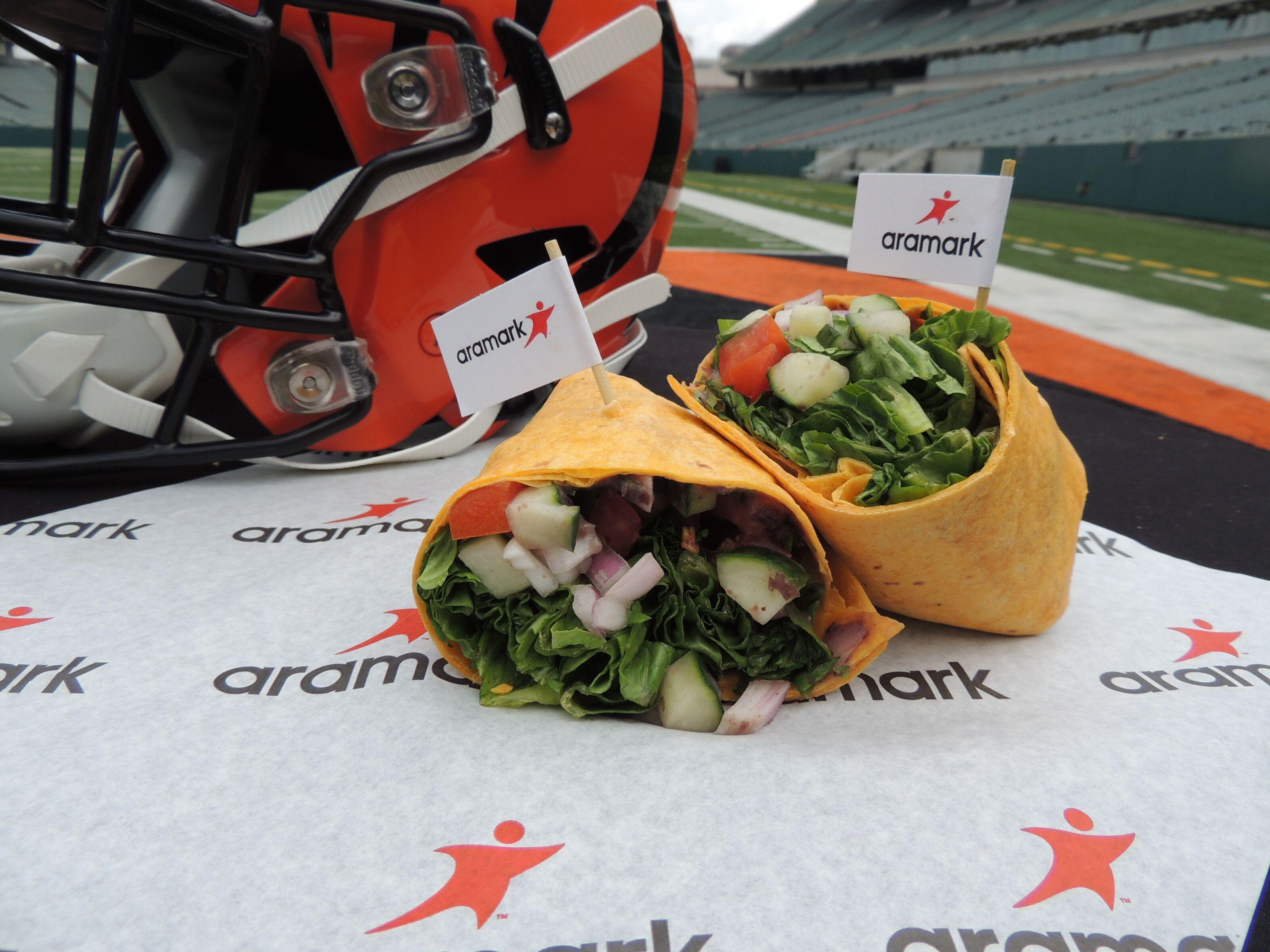 Football stadiums feature more vegetarian friendly menus