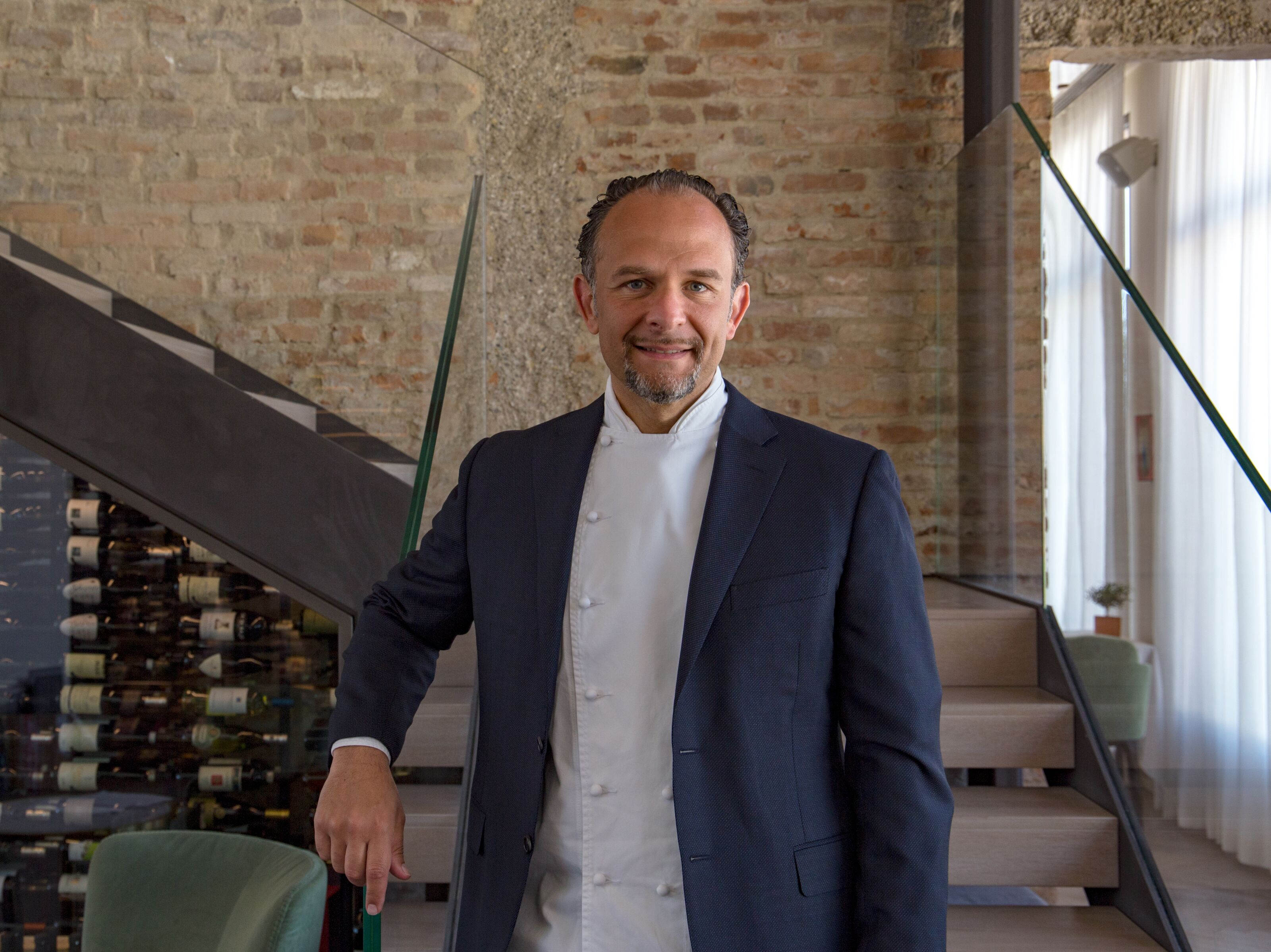 Fabio Trabocchi, Michelin-starred chef, highlights tradition and seasonality
