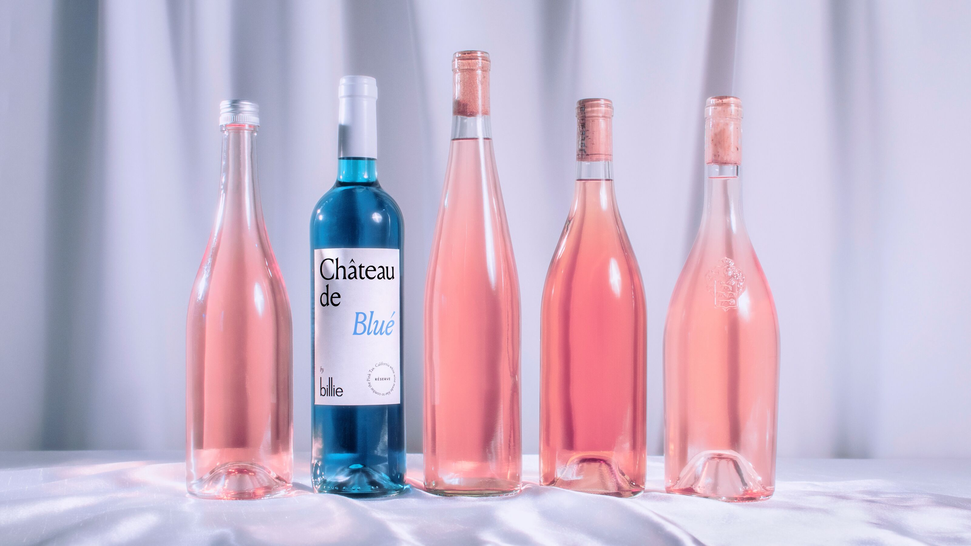 Blue wine makes a colorful statement about the pink tax