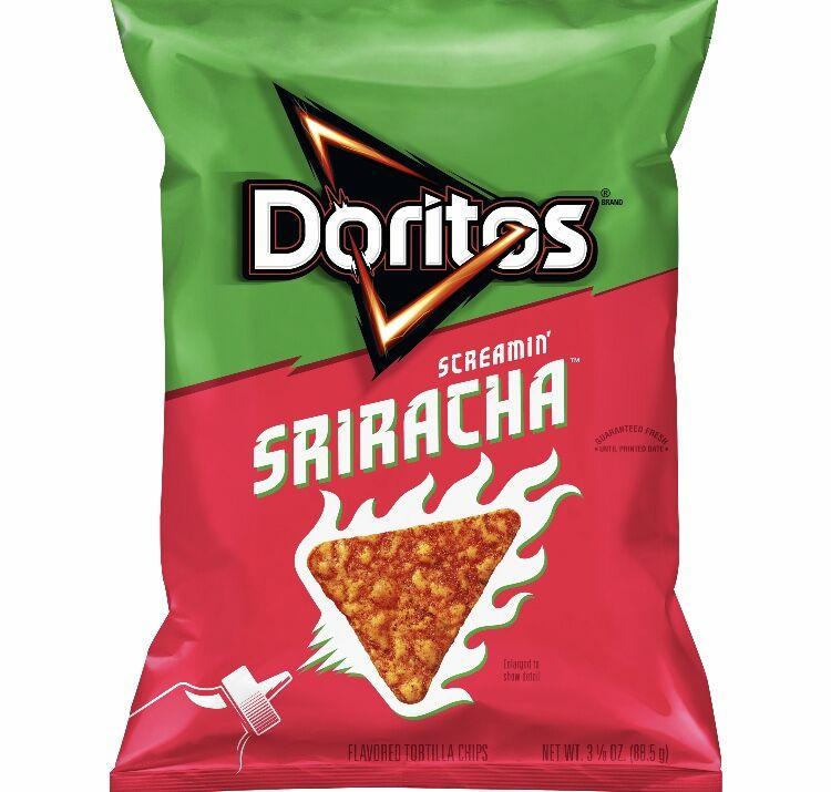 Prepare yourself, Doritos Screamin' Sriracha is here and it's spicy