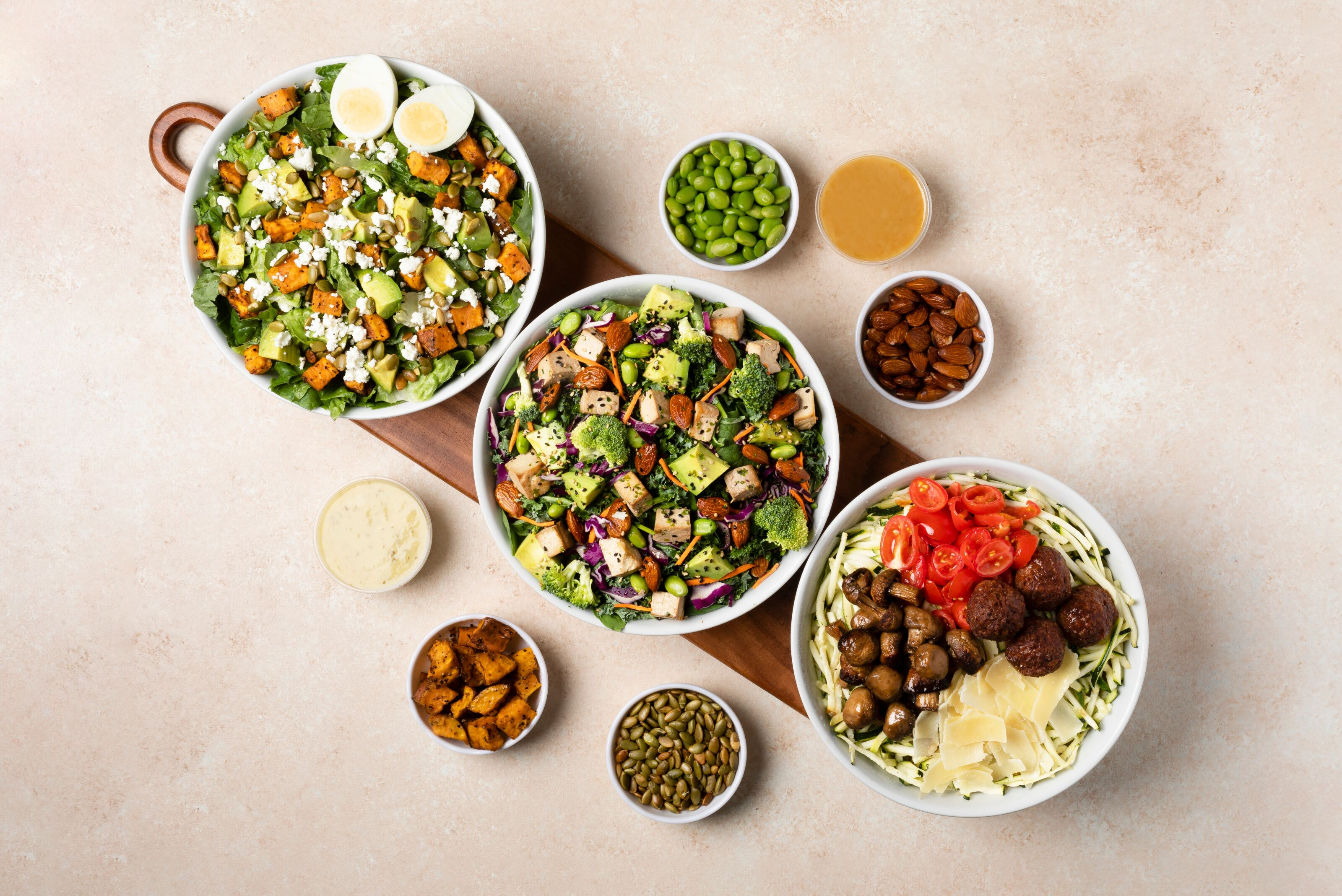 Just Salad and Grubhub let you order your way with Health Tribes