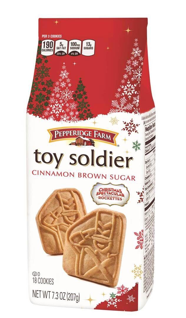 Pepperidge Farm Toy Soldier cookies kicks the holiday season into high gear