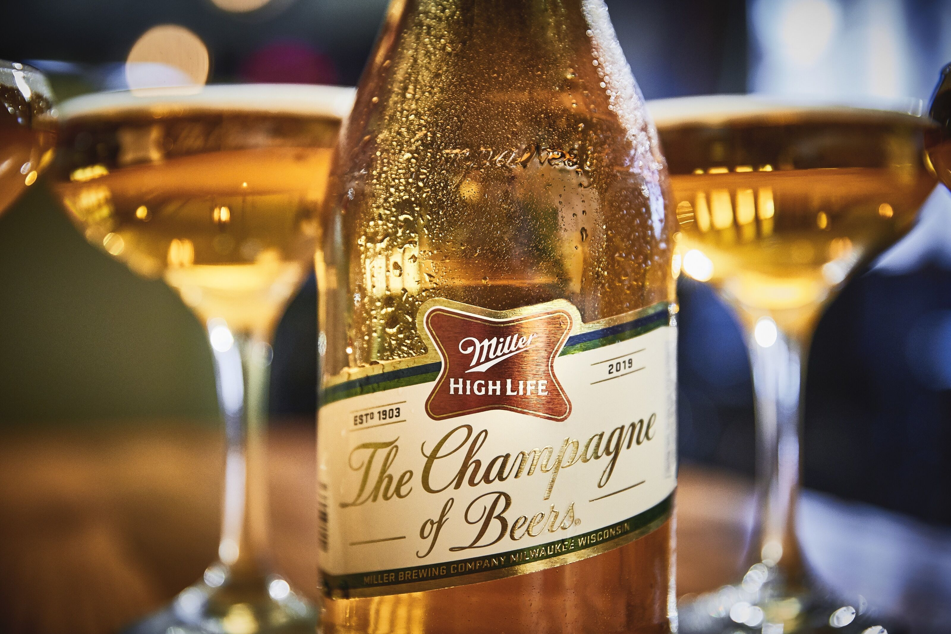 Toast to the high life – Miller High Life Champagne bottles are back