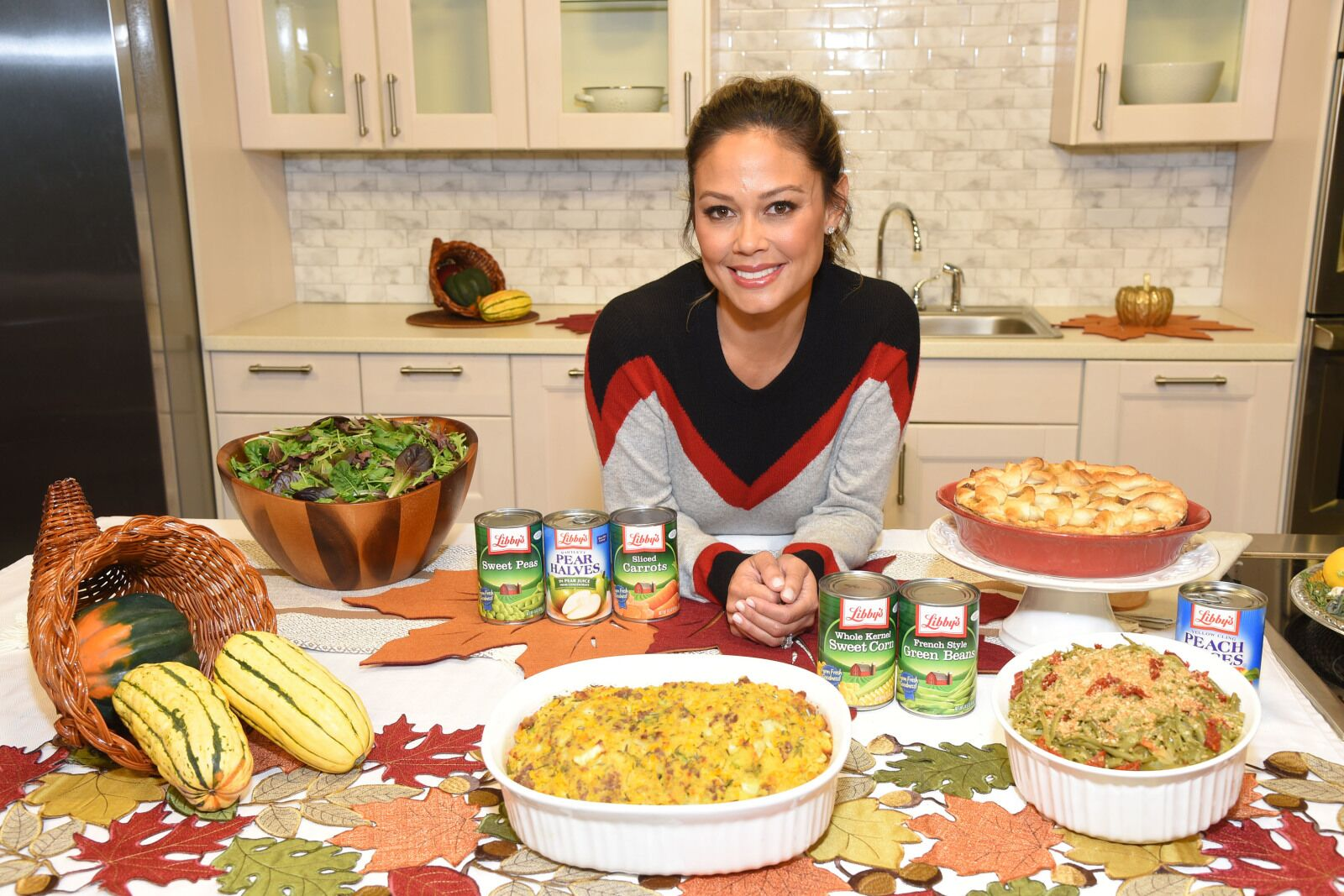 Libby's and Vanessa Lachey encourage you to get back to the table