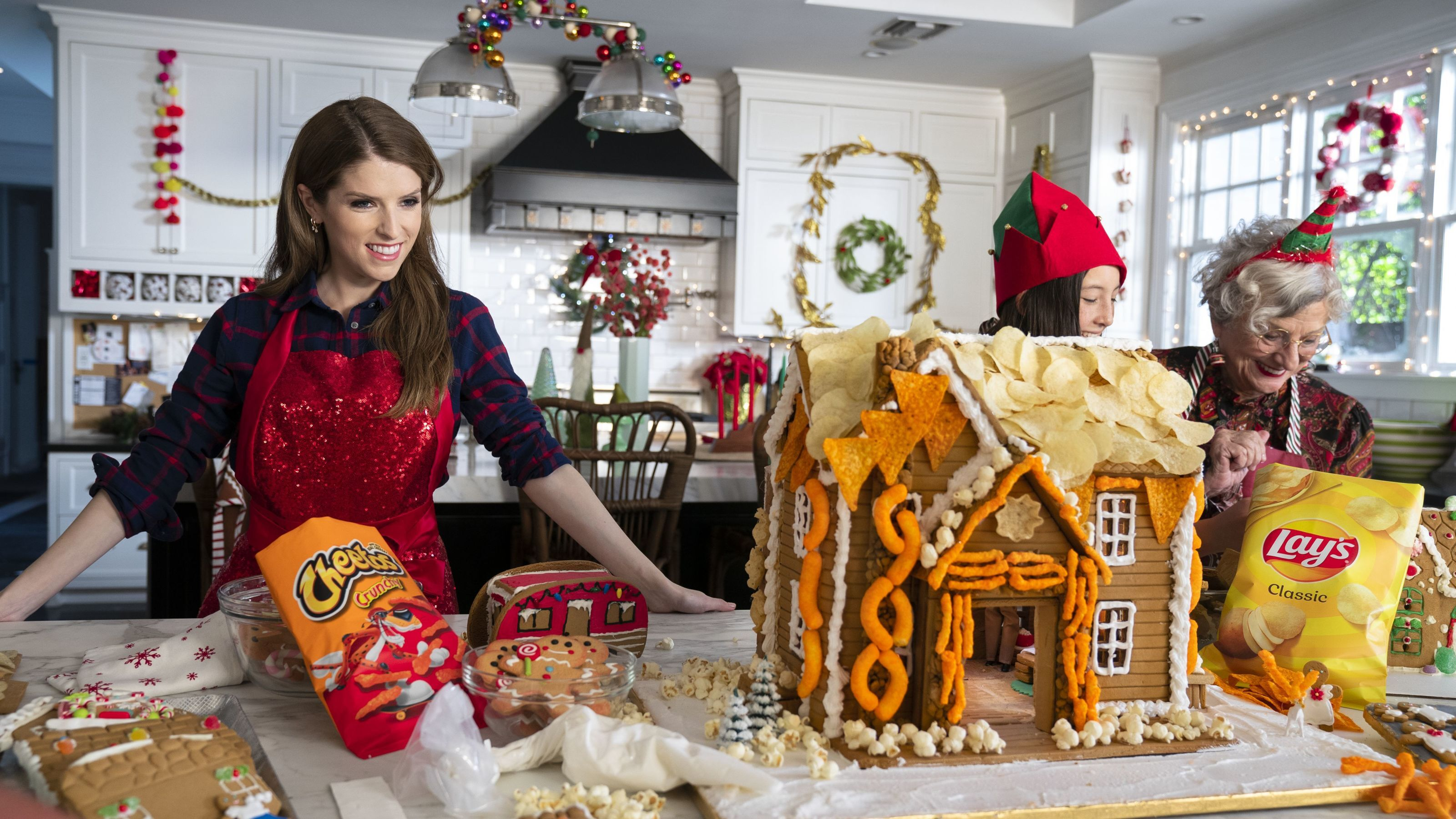 Anna Kendrick has a few favorite snacks to sing about this holiday season