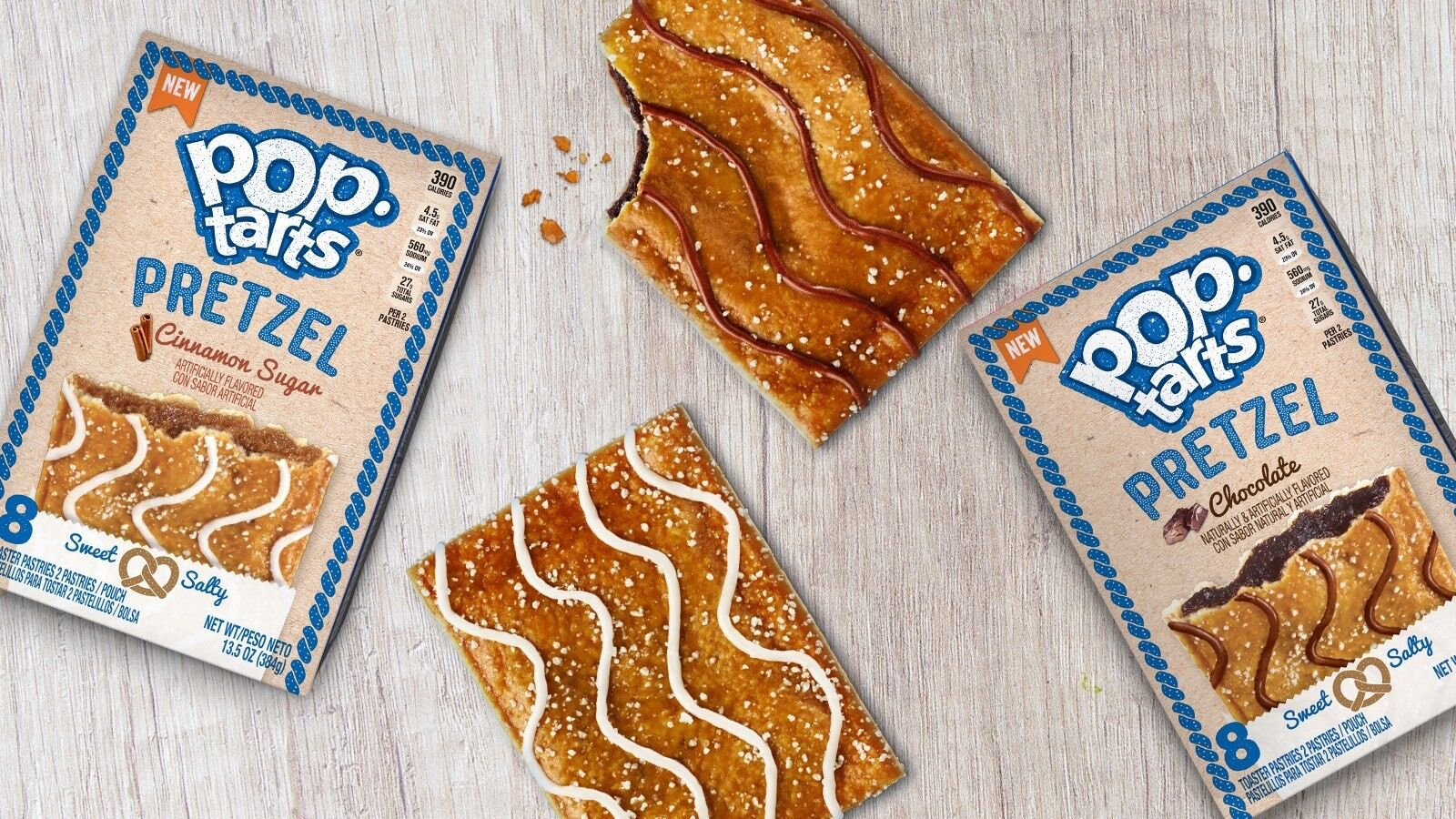 Pop Tarts get a sweet and salty makeover, are you craving a bite?