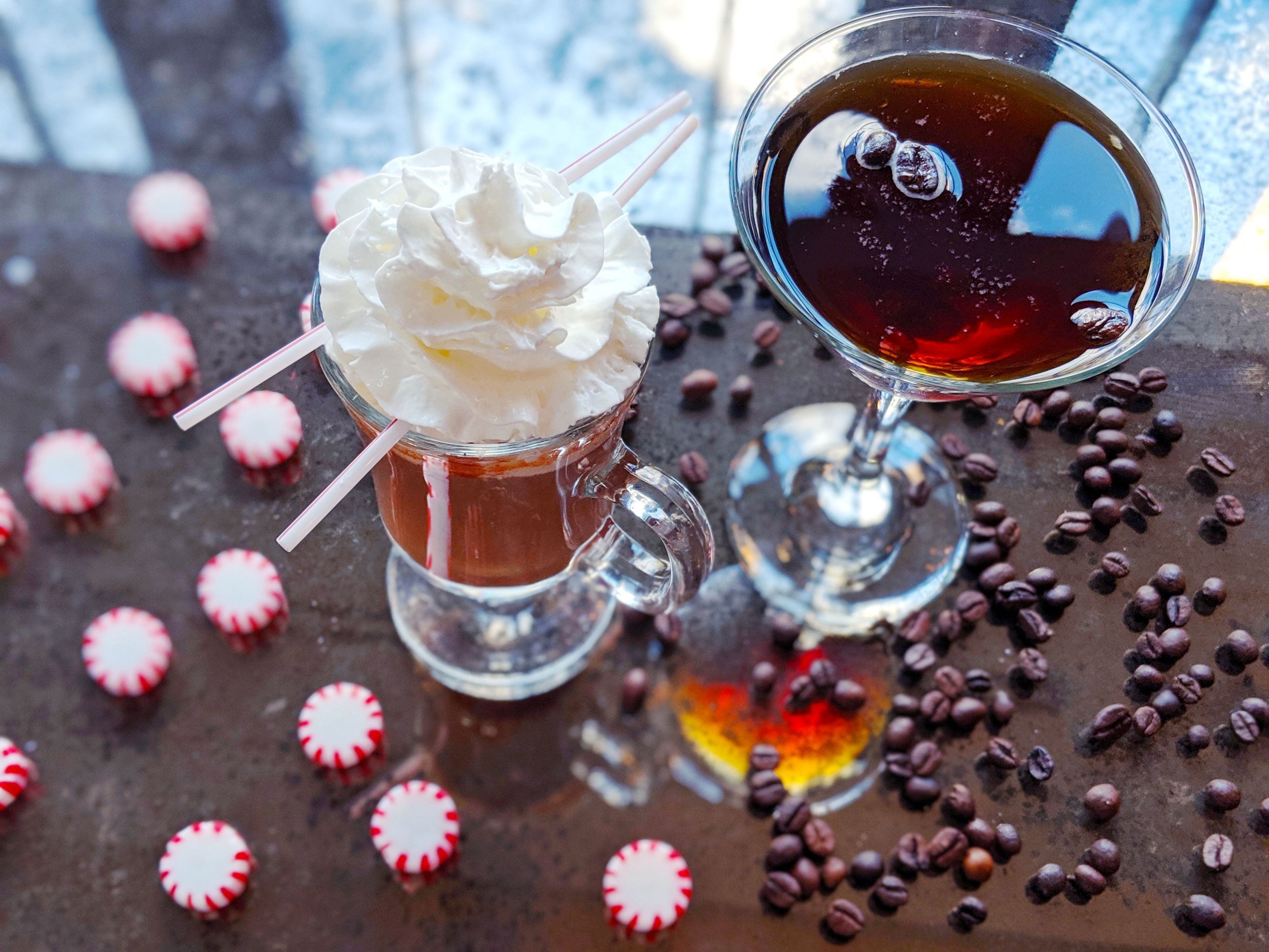Naughty or nice, you'll definitely sip these cocoa cocktails twice