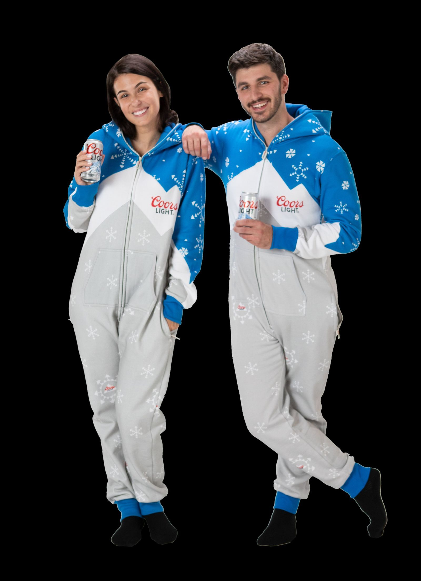 Coors Light holiday onesie is the ultimate holiday lounge wear