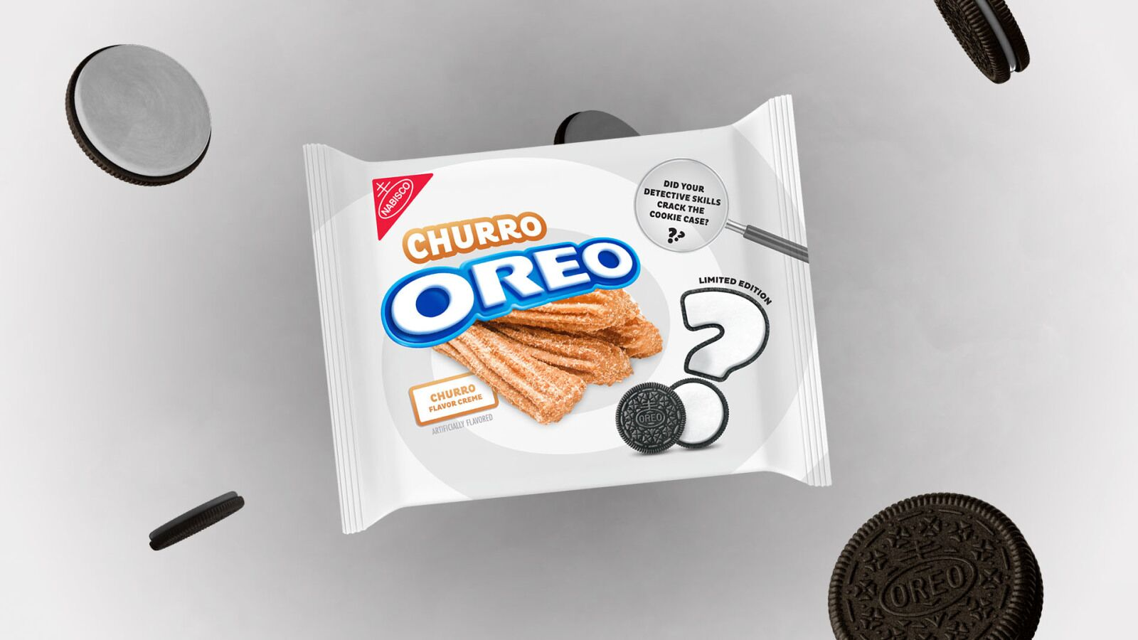 Churro OREO is here, but did you correctly solve the mystery?