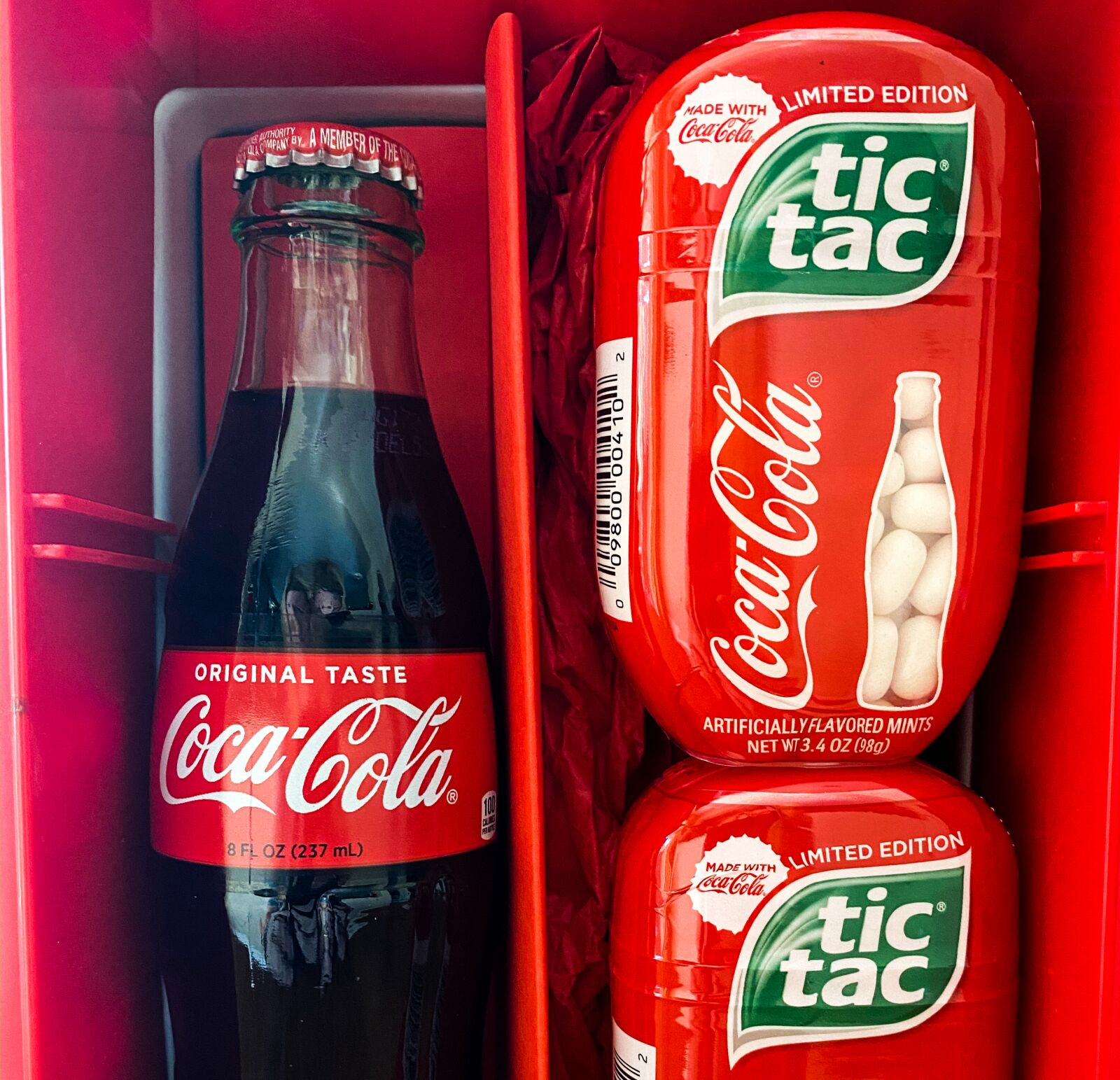 Tic Tac Coca-Cola, pop open this refreshing flavor now