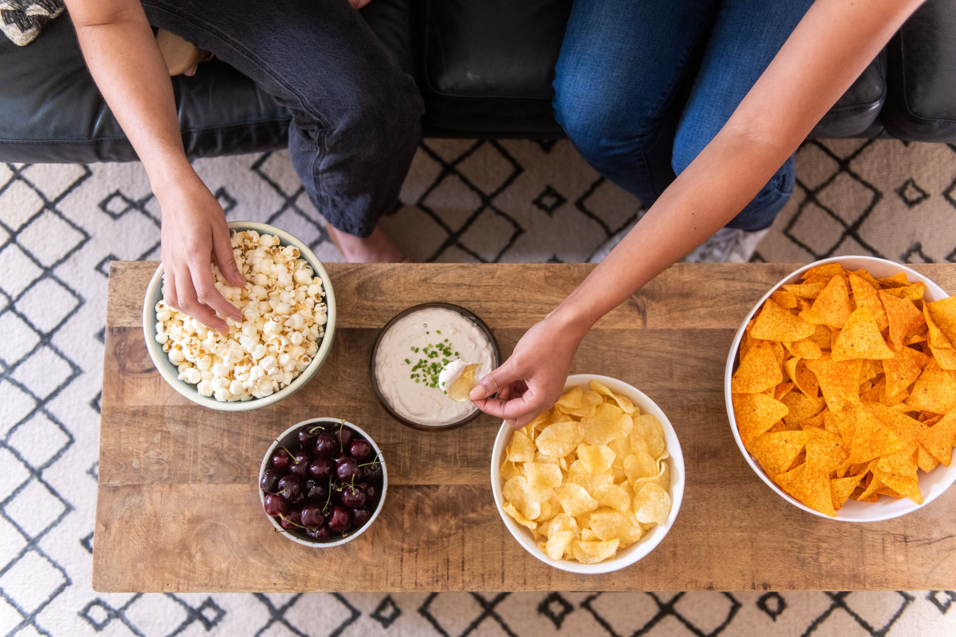 Are tortilla chips or potato chips better Super Bowl snacks?