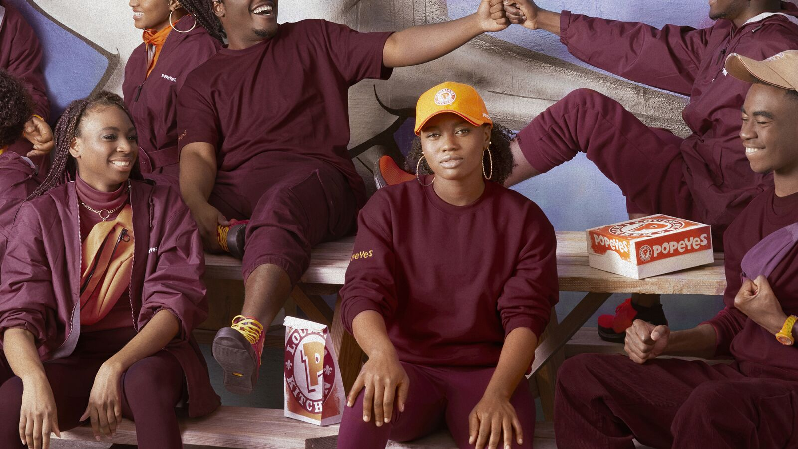 Love Popeyes, why not dress in the latest Popeyes fashion