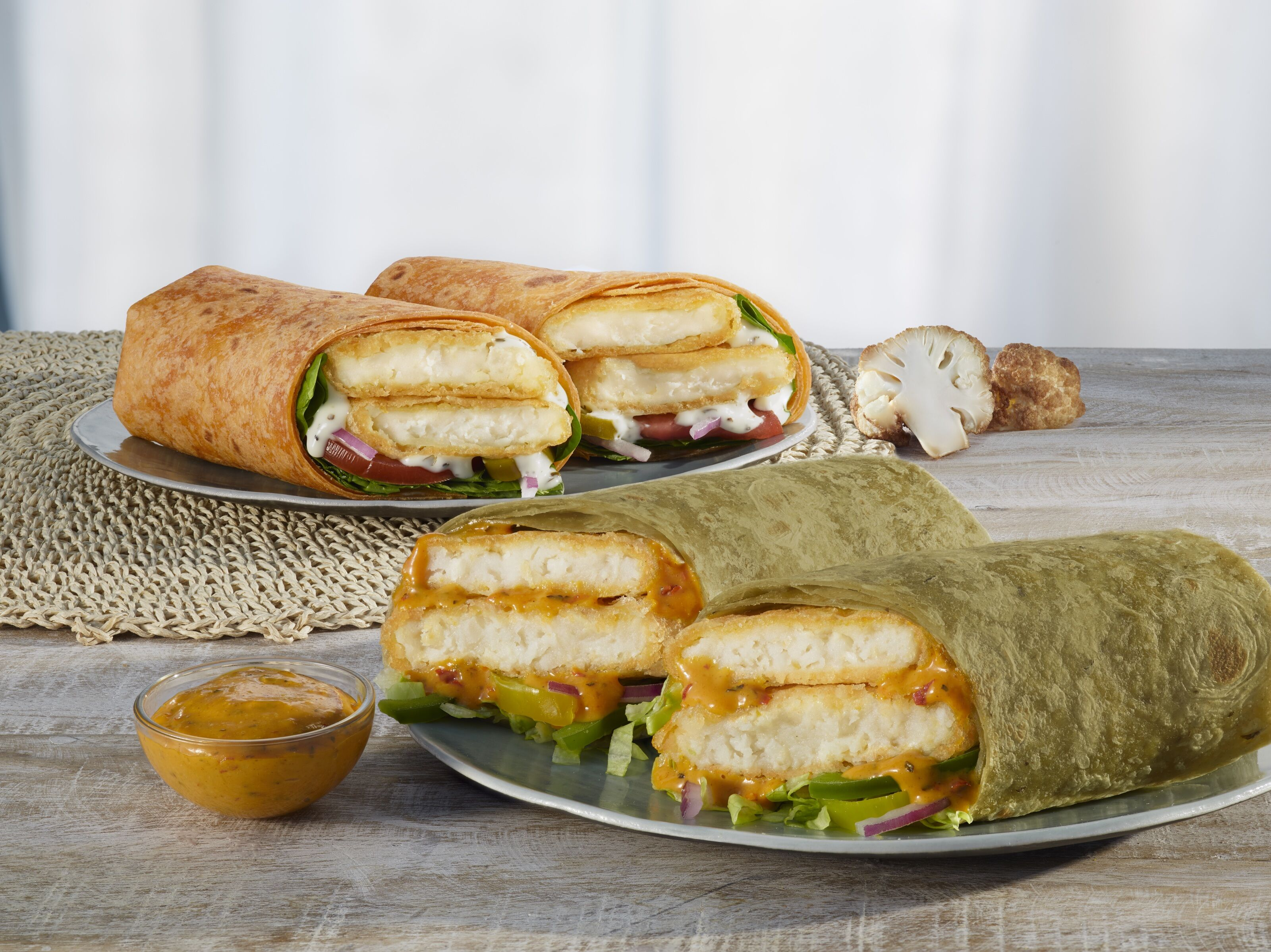 Subway wants you to eat more veggies with new Cauliflower Fritter Signature Wraps