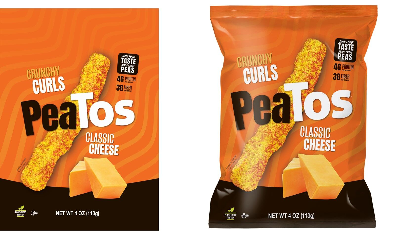 If healthy snack food is a competition, PeaTos wins the prize