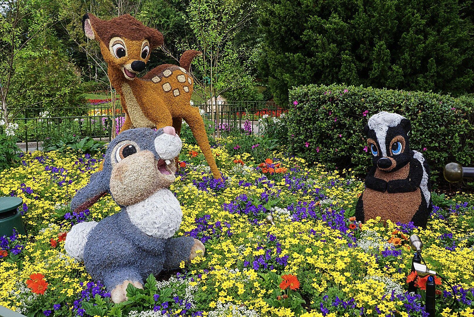 Honey Brings The Natural Sweetness To Epcot Flower Garden Festival