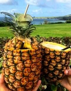 pineapple cocktails