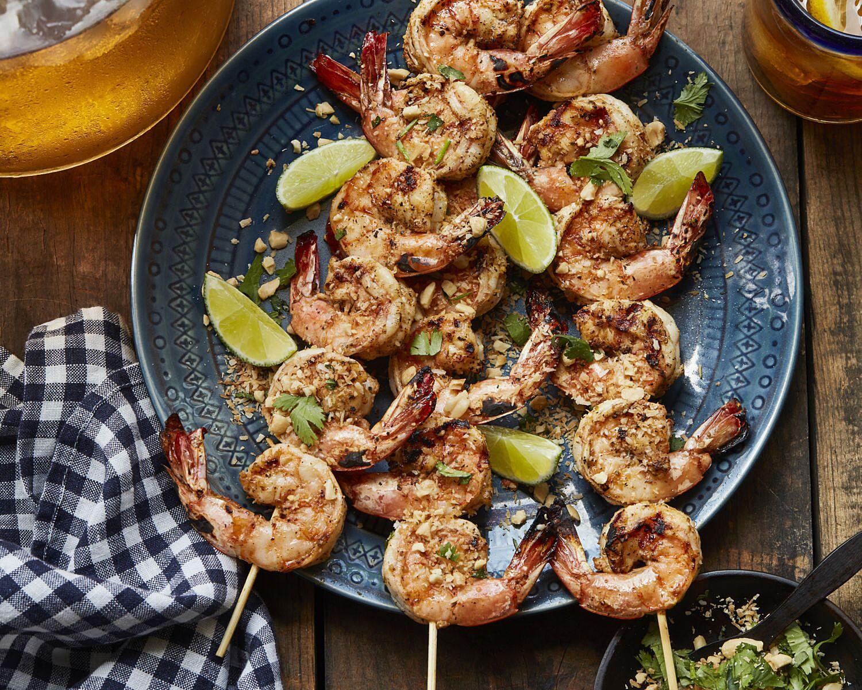 Food Network Grilled Shrimp Skewers