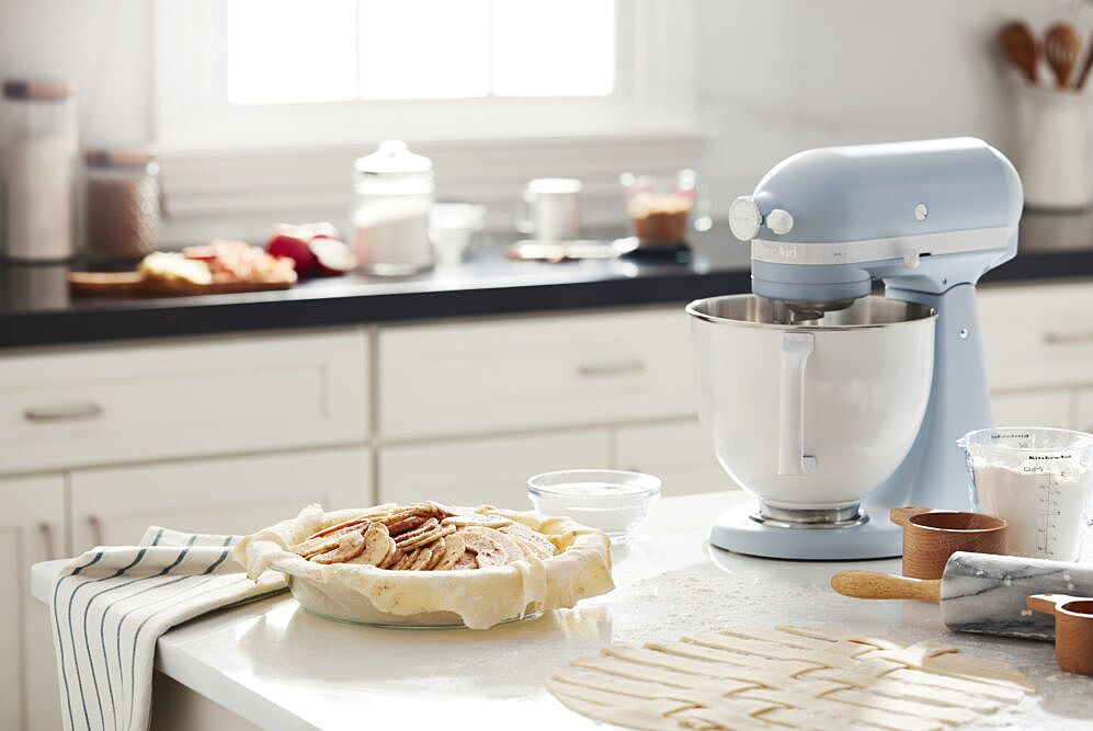 Kitchenaid Launches Heritage Inspired Misty Blue Color For Its 100