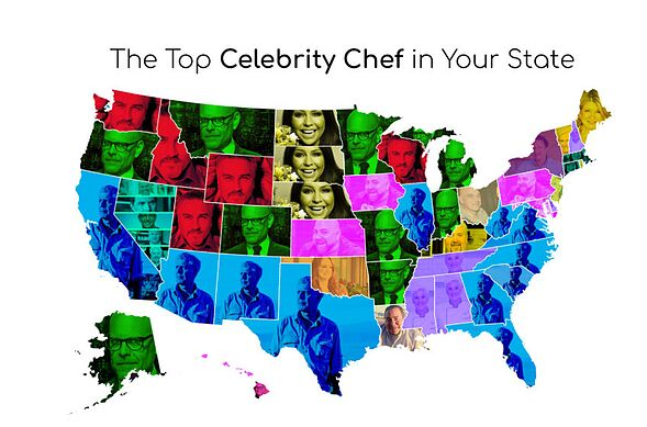 Food Network Tv Show Map