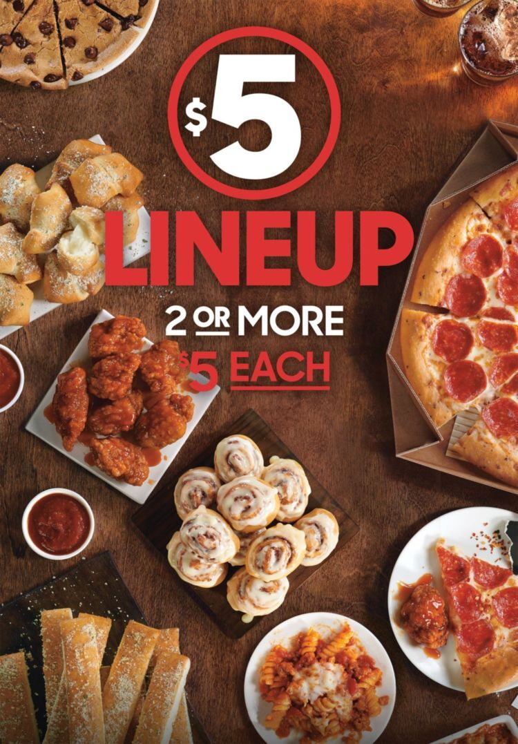 Oct 17, · Pizza Hut officially unleashed the new value menu, aptly dubbed the $5 Lineup, at its restaurants nationwide on Wednesday, according to a company .