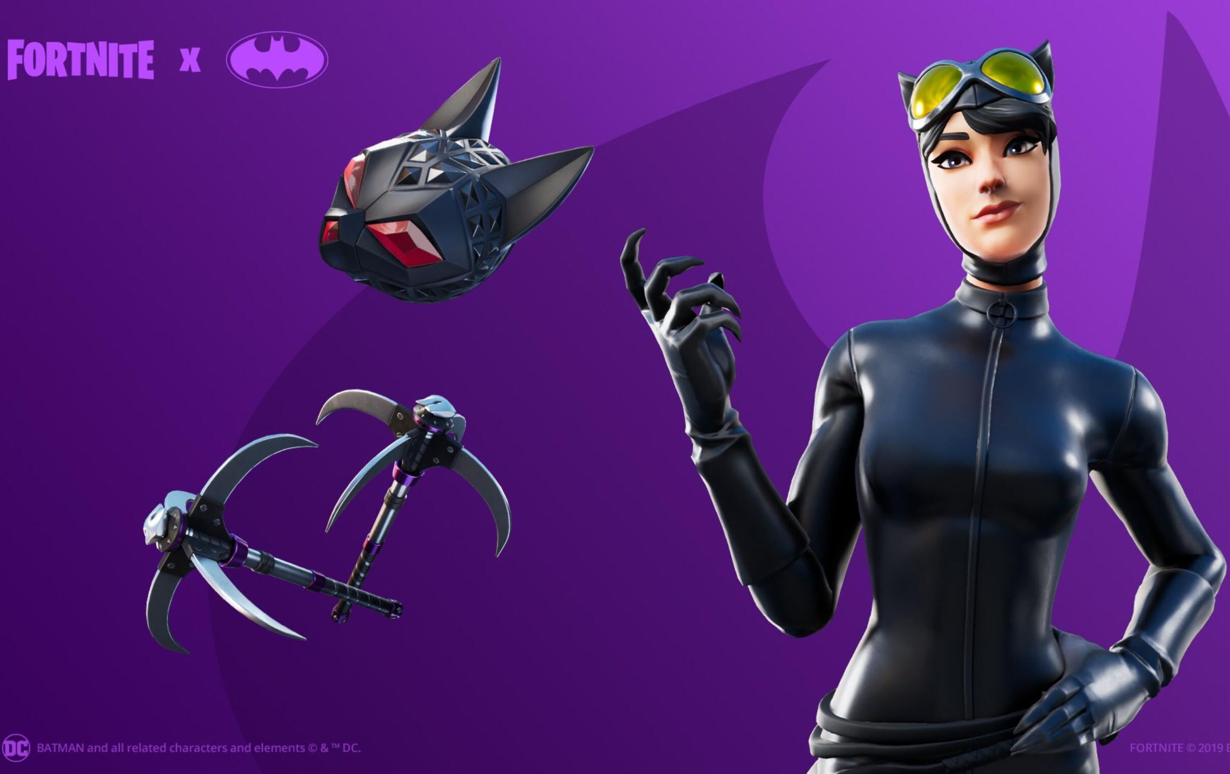 Fortnite: Today's Item Shop Featuring Catwoman and Wukong 10/13/19