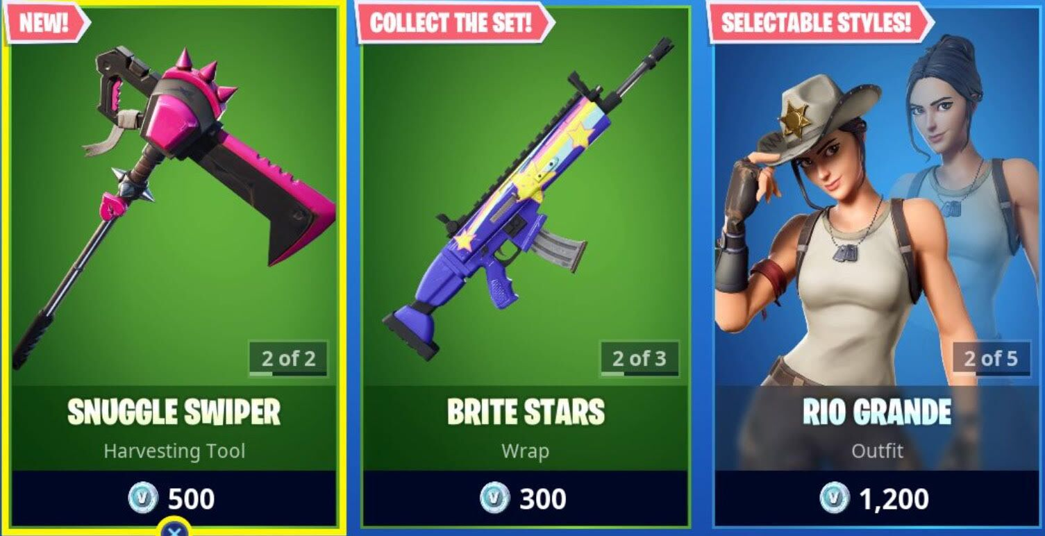 Fortnite: Today's Item Shop Featuring The Paradigm 10/11/19